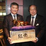タイ会長と上村会長